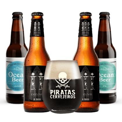 Beer Hops 4 ( 4 cervejas + 1 copo grátis)